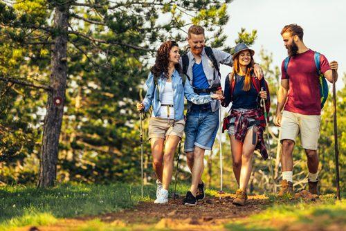 Wandern als Ausflugsziel in Kirchschlag - Hotel Alpenblick