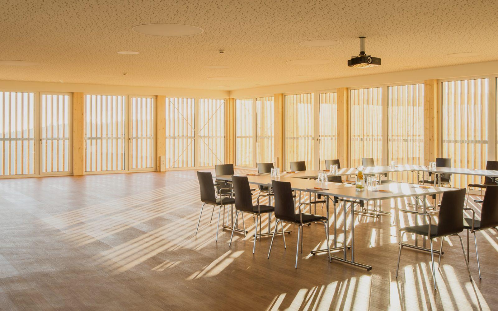Ansicht von Innen unseres Seminarhotels im Mühlviertel - Hotel Alpenblick
