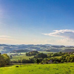 Beeindruckendes Panorama beim Entdecken der Ausflugsziele im Mühlviertel - Hotel Alpenblick