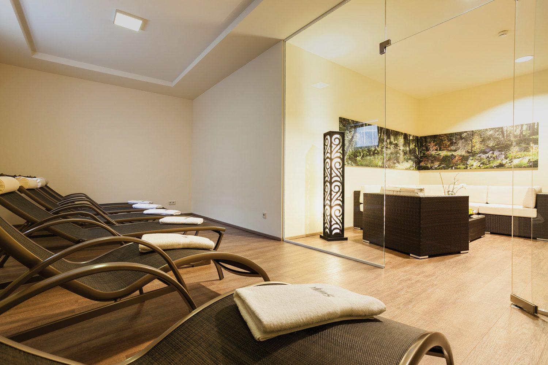 Wellnessbereich zum Relaxen des Seminarhotels nähe Linz - Hotel Alpenblick
