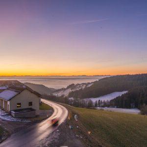 Atemberaubender Ausblick auf Linz von Hotel in Oberösterreich - Hotel Alpenblick